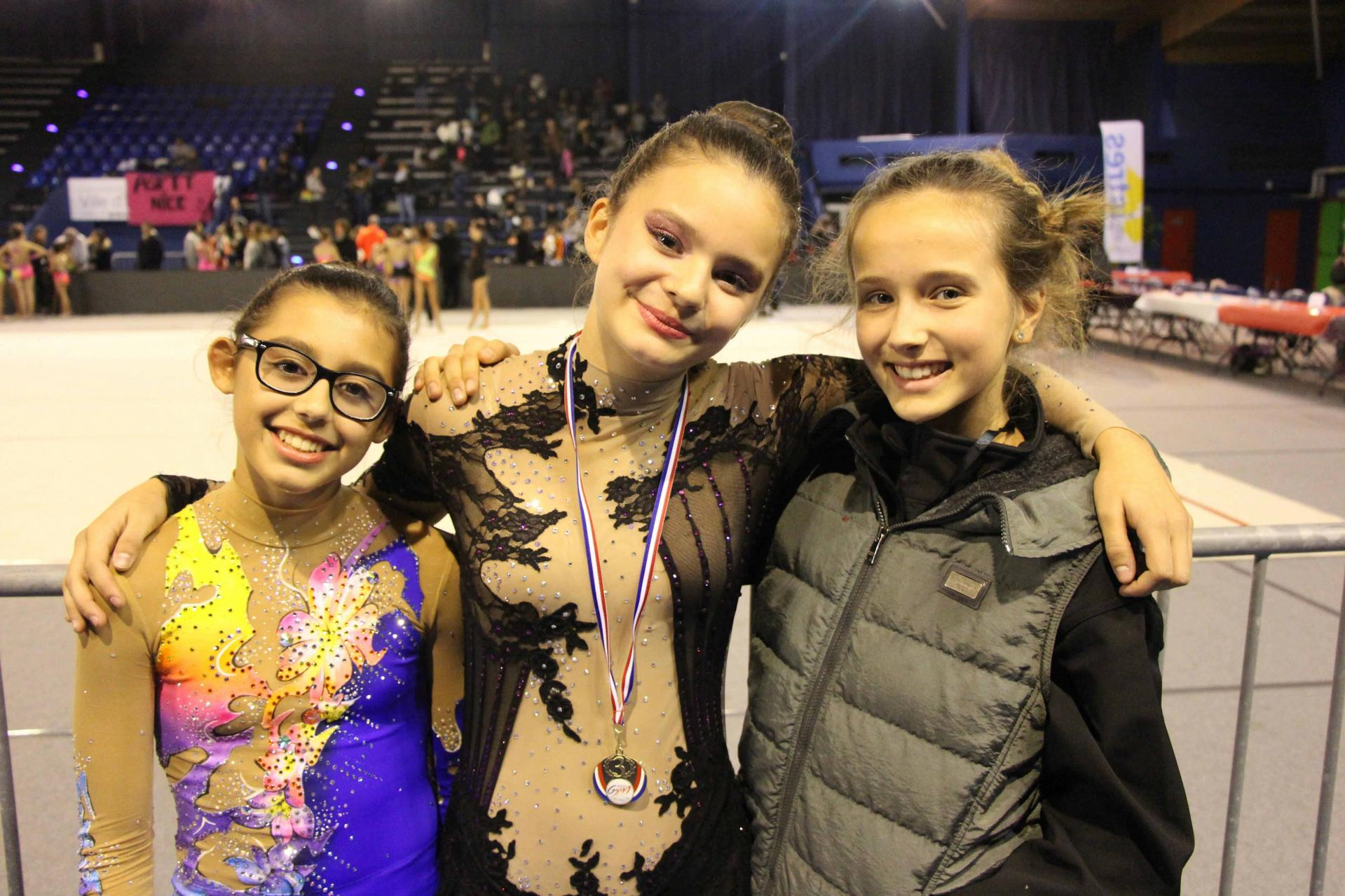 Marta, Océane, Alisha